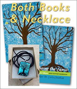 Both Books and Necklace Package