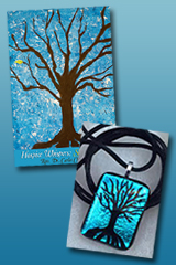 Hospice Whispers Book and Necklace Package